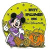 Disney Happy Halloween Pin - 2006 - Minnie Mouse
