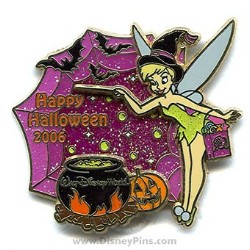 Disney Trick or Treat 2006 Pin - Tinker Bell