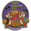 Disney Trick or Treat 2006 Pin - Chip and Dale