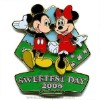 Disney Sweetest Day Pin - Mickey and Minnie