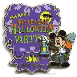 Disney Halloween Party 2006 Pin - Logo