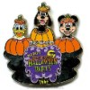 Disney Halloween Party 2006 Pin - Fab Three