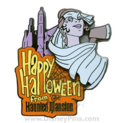 Disney Haunted Mansion Halloween Pin - Bride