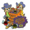 Disney Not So Scary Halloween Party Pin - 2008 - Cowboy Chip and Dale