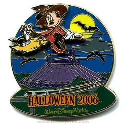 Disney Haunted Parks 2006 Pin - Minnie Mouse