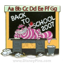 Disney Back to School Pin - 2007 - Cheshire Cat