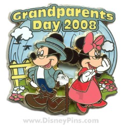 Disney Grandparents Day Pin - Mickey and Minnie