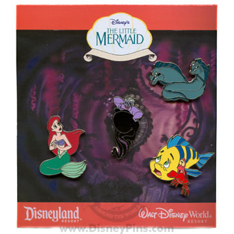 Disney Booster Pin Collection - Disney's The Little Mermaid