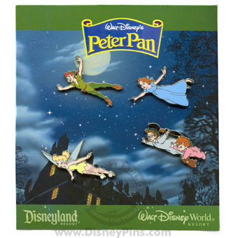 Disney Booster Pin Collection - Walt Disney's Peter Pan
