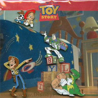 Disney Booster Pin Collection - Disney-Pixar's Toy Story