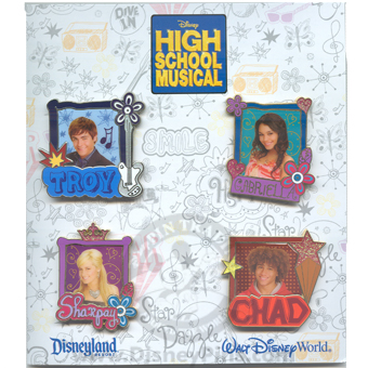 Disney Booster Pin Collection - High School Musical