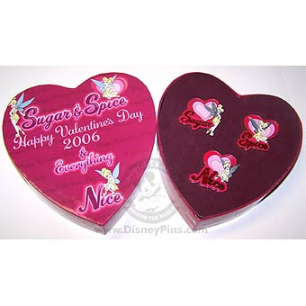 Disney Boxed Pin Set - Valentine's Day - Tinker Bell