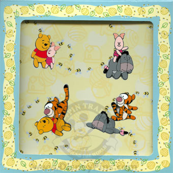 Disney Boxed Pin Set - Flexible Winnie the Pooh and Friends