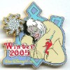 Disney Surprise Pin - Winter - Cruella De Vil