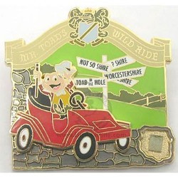 Disney Piece of Disney History II Pin - Mr Toad's Wild Ride
