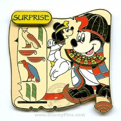 Disney Surprise Pin - Cartouche Collection - Mickey