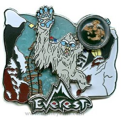 Disney Piece of Disney History II Pin - Everest - Forbidden Mountain
