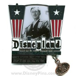 Walt Disney Originals Pin - First Theme Park