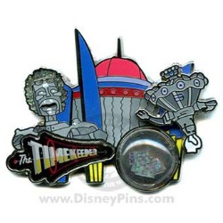 Disney Piece of Disney History II Pin - The Timekeeper