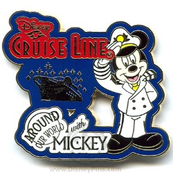 Disney Around Our World With Mickey Pin - Disney Cruise Line