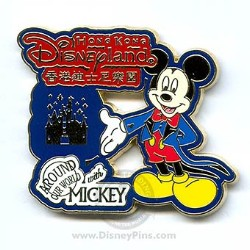 Disney Around Our World With Mickey Pin - Hong Kong Disneyland