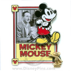 Disney Award Winning Performances Pin - The Creation of Mickey Mouse
