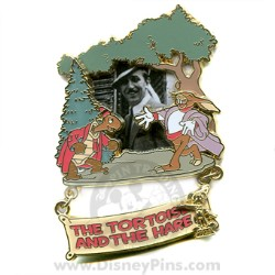 Disney Award Winning Performances Pin - The Tortoise and the Hare