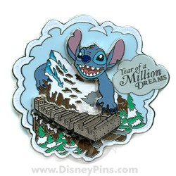 Disney Year of a Million Dreams Pin - Stitch
