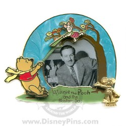 Disney Award Winning Performances Pin - Winnie the Pooh Blustery Day