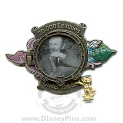 Disney Award Winning Performances Pin - 20,000 Leagues Under The Sea