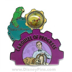 Disney Piece of Disney History III Pin - Carousel of Progress