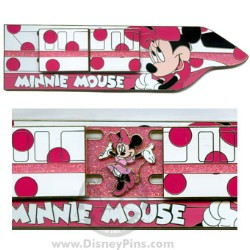 Disney Magical Monorail Jumbo Pin - Minnie Mouse