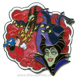 Disney Where Dreams Come True Pin - Maleficent