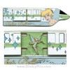 Disney Magical Monorail Jumbo Pin - Tinker Bell