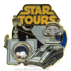 Disney Piece of Disney History III Pin - Star Tours