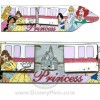 Disney Magical Monorail Jumbo Pin - Princesses