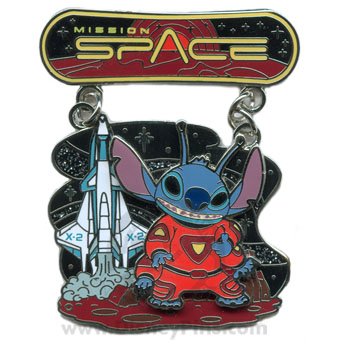 Disney Featured Attraction Collection Pin - Mission: Space