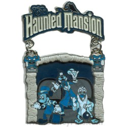 Disney Featured Attraction Collection Pin - The Haunted Mansion