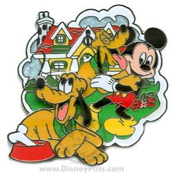 Disney Where Dreams Come True Pin - Pluto
