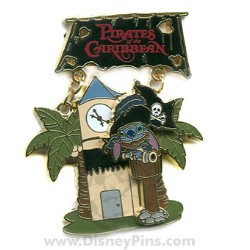 Disney Featured Attraction Collection Pin - Pirates of the Caribbean