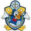 Disney Character Crest Pin - Donald Duck
