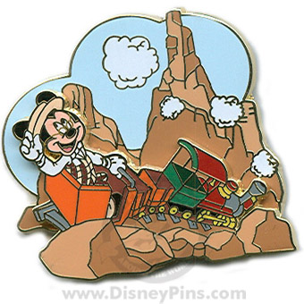 Disney The Scoop! Pin - Big Thunder Mountain Railroad