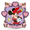 Disney Character Crest Pin - Minnie Mouse