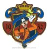 Disney Character Crest Pin - Goofy