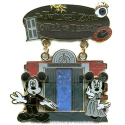 Disney Featured Attraction Collection Pin - Tower of Terror