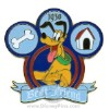 Disney Character Crest Pin - Pluto