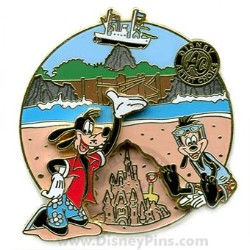 Disney Artist's Choice Pin - Goofy and Max at Typhoon Lagoon