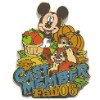 Disney Cast Member Pin - Fall - Chip and Dale with Mickey Mouse