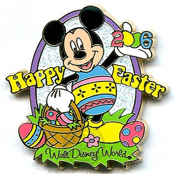 Your WDW Store Disney Cast Member Pin Easter Mickey