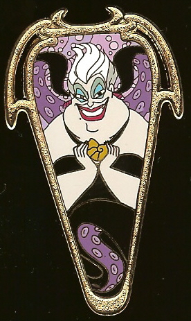Disney Auctions Pin - Art Nouveau - Ursula